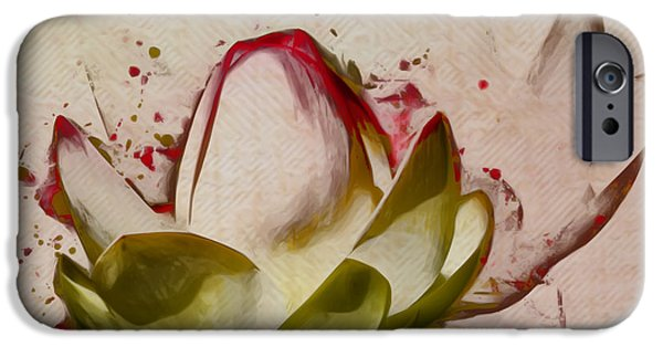Waterlily iPhone Cases - Lily My Lovely - a444csq iPhone Case by Variance Collections