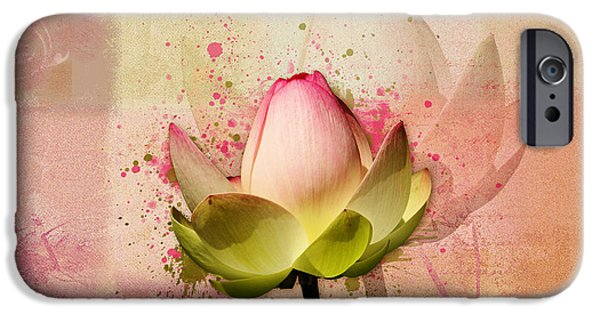 Waterlily iPhone Cases - Lily My Lovely - s03c2 iPhone Case by Variance Collections
