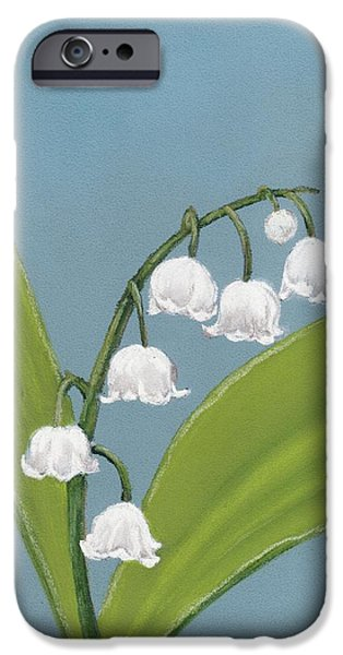 Bloom iPhone Cases - Lily of the Valley iPhone Case by Anastasiya Malakhova