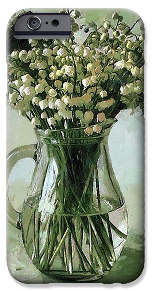 Lily of the Valley iPhone Case by Vasiliy Agapov