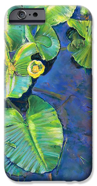 Lily Pads iPhone Case by Nick Payne