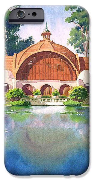 Lily Pond and Botanical Garden iPhone Case by Mary Helmreich