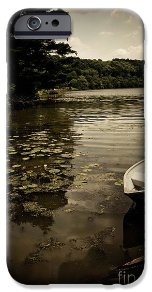 Lilypads in the Lake iPhone Case by Amy Cicconi