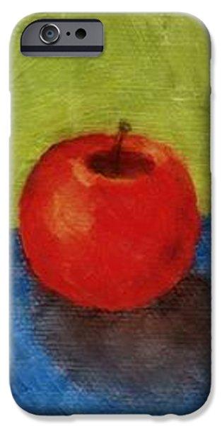 Lime Apple Lemon iPhone Case by Michelle Calkins
