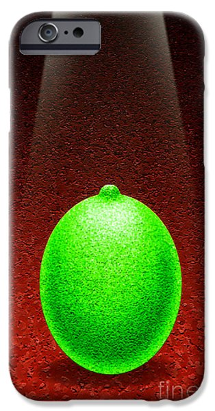 Limelight iPhone Cases - Limelight iPhone Case by Cristophers Dream Artistry