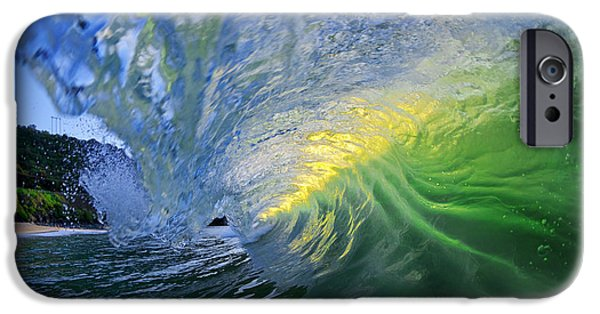 Ocean Art Photography iPhone Cases - Limelight iPhone Case by Sean Davey