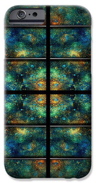 Limitless Night Sky iPhone Case by Betsy A  Cutler