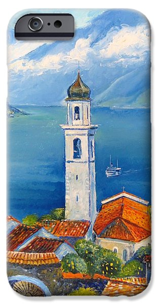 Recently Sold -  - Agriculture iPhone Cases - Limone-Lago di Garda iPhone Case by Mikhail Zarovny