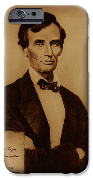 Lincoln iPhone Cases - Lincoln iPhone Case by Celestial Images