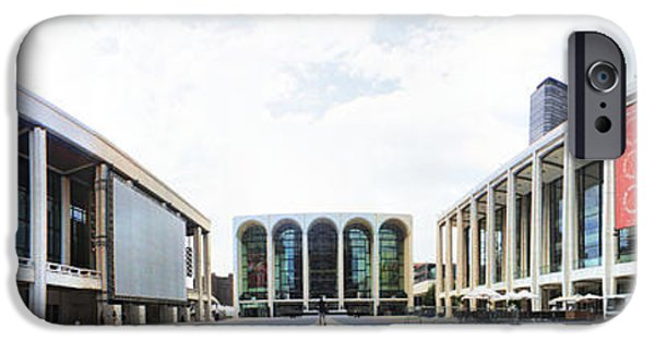 Lincoln iPhone Cases - Lincoln Center NYC iPhone Case by Nishanth Gopinathan