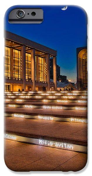 Lincoln Center iPhone Case by Susan Candelario
