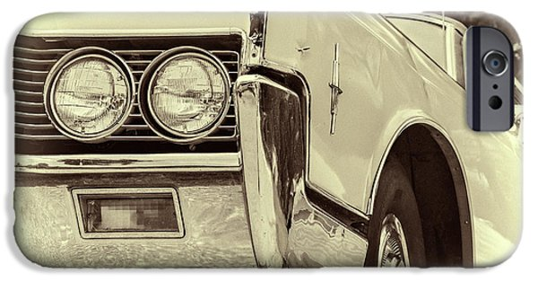 Automotive iPhone Cases - Lincoln Continental iPhone Case by Joan Carroll