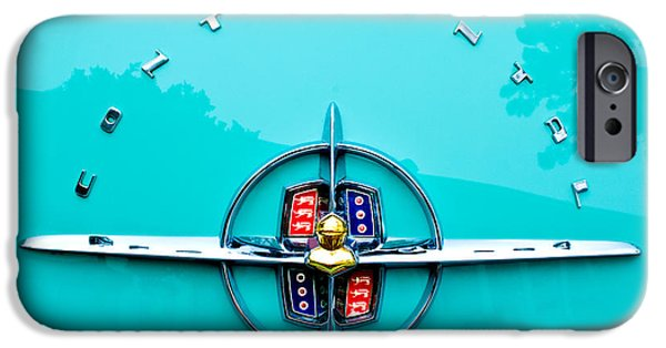 Lincoln iPhone Cases - Lincoln Continental Rear Emblem iPhone Case by Jill Reger