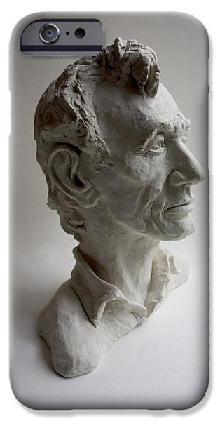 United States Sculptures iPhone Cases - Lincoln iPhone Case by Derrick Higgins