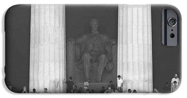 Lincoln iPhone Cases - Lincoln Memorial - Washington DC iPhone Case by Mike McGlothlen