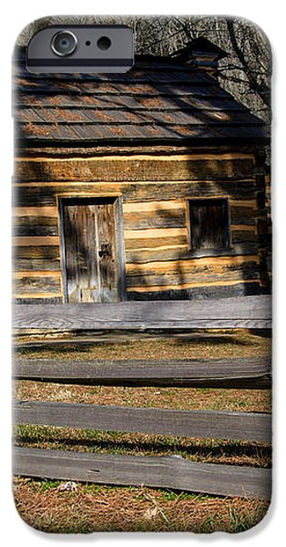 Lincoln's Boyhood Home iPhone Case by Mark Bowmer