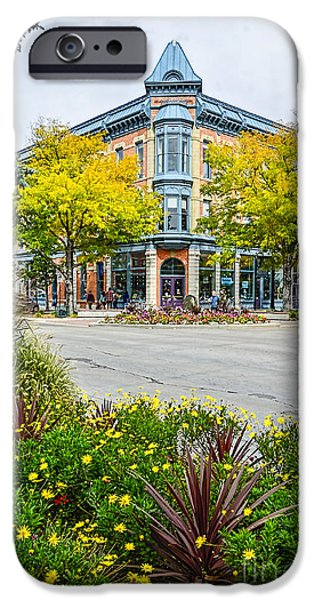 Fort Collins iPhone Cases - Linden Hotel iPhone Case by Keith Ducker