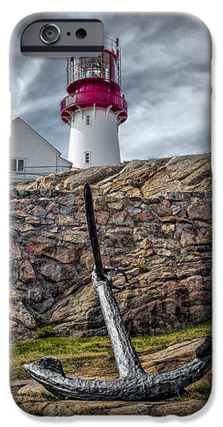 Norway iPhone Cases - Lindesnes Lighthouse iPhone Case by Erik Brede