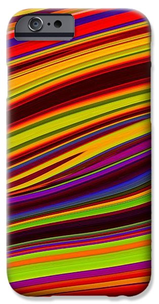 Linear Abstract iPhone Case by Imani  Morales