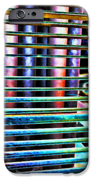 Action Lines Digital Art iPhone Cases - Lines iPhone Case by Sylvia Thornton
