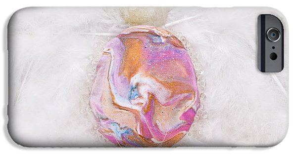 Magical Reliefs iPhone Cases - Lionheart detail iPhone Case by Heidi Sieber