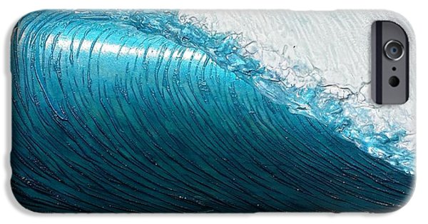 Ocean Reliefs iPhone Cases - Lip Line iPhone Case by Nathan Ledyard