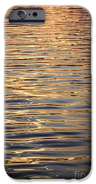 Fluid iPhone Cases - Liquid gold iPhone Case by Elena Elisseeva