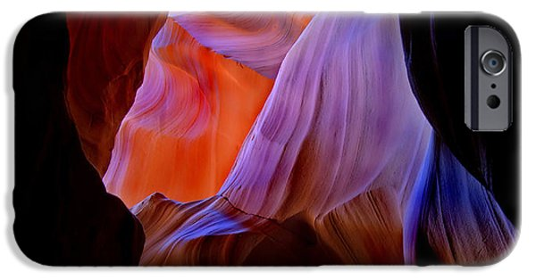 Canyon iPhone Cases - Liquid Light iPhone Case by Mike  Dawson