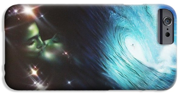 Sunset Prints iPhone Cases - Liquid Lust iPhone Case by Christian Chapman Art