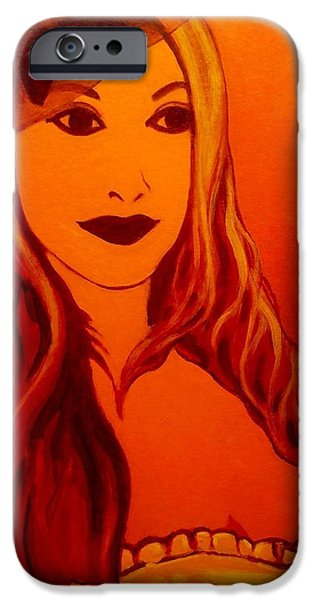 Boa Constrictor iPhone Cases - Lisa Darling II - The Irish Burlesque School iPhone Case by John  Nolan