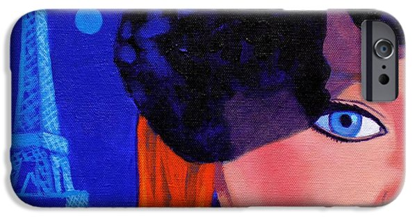 Boa Constrictor iPhone Cases - Lisa Darling - Paris - Irish Burlesque iPhone Case by John  Nolan