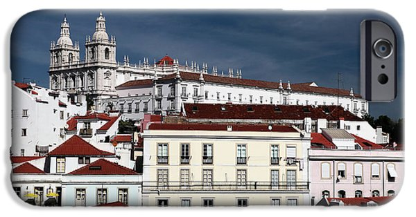 Lisbon X iPhone Case by John Rizzuto
