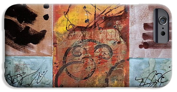 Key Signature iPhone Cases - Listen to  the Music iPhone Case by Florentina Maria Popescu