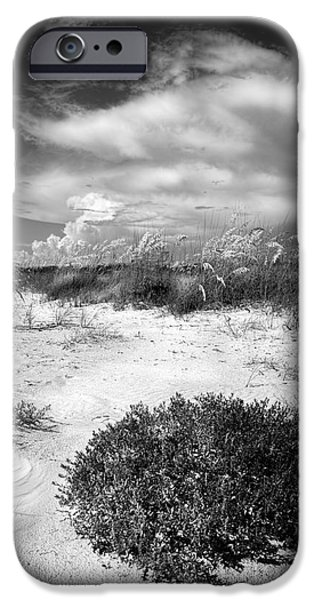 Sand Dunes iPhone Cases - Listen to The Slience iPhone Case by Marvin Spates
