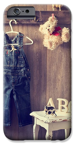 Little iPhone Cases - Little Boys Bedroom iPhone Case by Amanda And Christopher Elwell