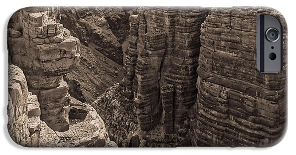 Grand Canyon iPhone Cases - Little Colorado River Overlook iPhone Case by Dan Sproul
