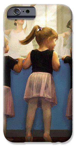 Little Dancing Dreamers iPhone Case by Doug Kreuger