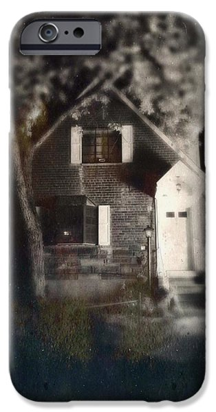 Recently Sold -  - Haunted House iPhone Cases - Little House in Maspeth iPhone Case by H James Hoff