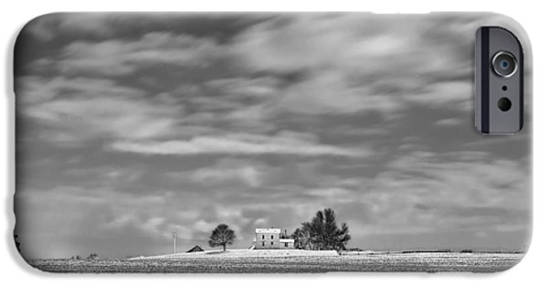 The White House Photographs iPhone Cases - Little House on the Prairie iPhone Case by Tom Phelan