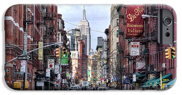 Little iPhone Cases - Little Italy iPhone Case by Fred Gramoso