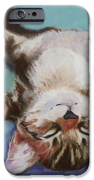 Little Napper  iPhone Case by Pat Saunders-White