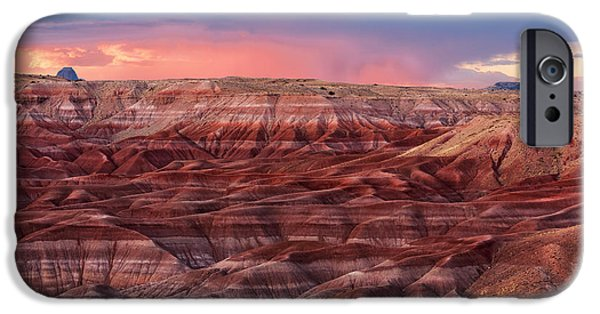 Watson Lake iPhone Cases - Little Painted Desert - 2 iPhone Case by Alex Mironyuk