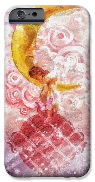 Little iPhone Cases - Little Princess iPhone Case by Mo T