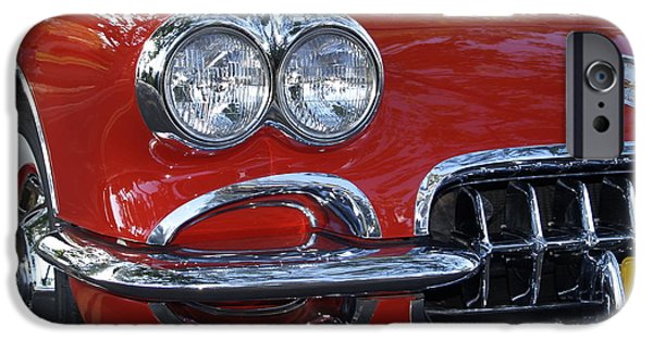 Bill Gallagher iPhone Cases - Little Red Corvette iPhone Case by Bill Gallagher