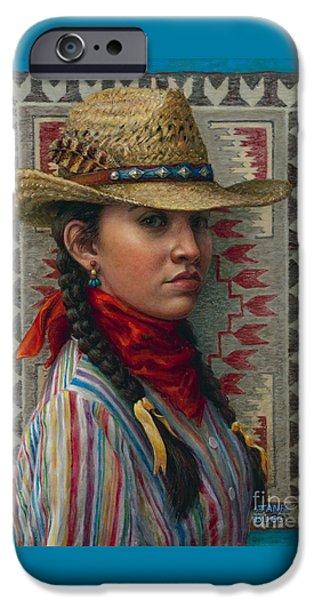 Little Rising Hawk iPhone Case by Jane Bucci
