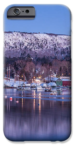 Little Town of Camden iPhone Case by Susan Cole Kelly
