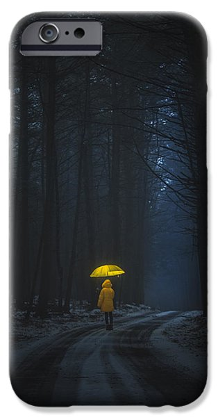 Recently Sold -  - Little iPhone Cases - Little Yellow Riding Hood iPhone Case by Alex Potemkin
