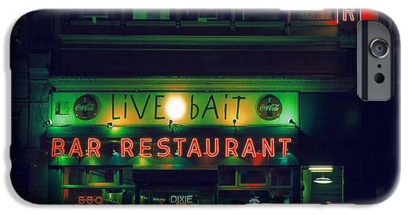 Facade iPhone Cases - Live Bait iPhone Case by Andrew Paranavitana
