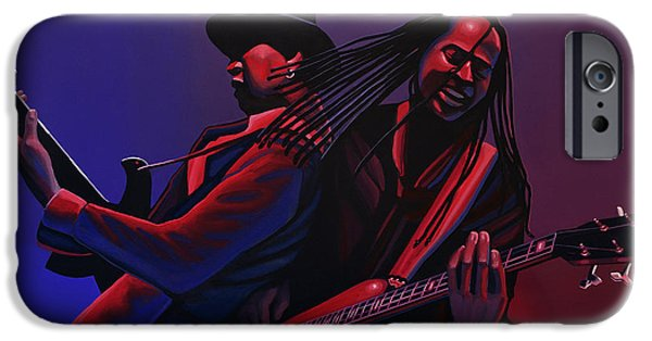 Punk iPhone Cases - Living Colour iPhone Case by Paul  Meijering