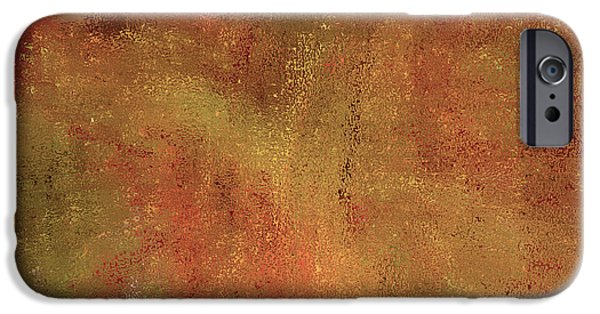 Ann Johndro-collins iPhone Cases - Living In a Copper World iPhone Case by Ann Johndro-Collins